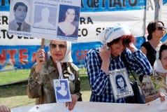 Οι μητέρες του Plaza de Mayo Στοκ Φωτογραφία