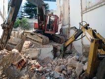 Οι μηχανές καταστρέφουν Στοκ Φωτογραφίες