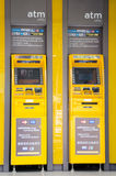 Οι μηχανές του ATM Στοκ Εικόνα