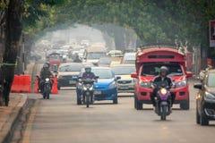 Οι μολυσμένοι ουρανοί πέρα από Chiang μΑ στοκ εικόνα με δικαίωμα ελεύθερης χρήσης