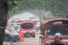 Οι μολυσμένοι ουρανοί πέρα από Chiang μΑ στοκ φωτογραφίες με δικαίωμα ελεύθερης χρήσης