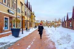 Οι μοντέρνες αγορές στο Κίεβο Στοκ εικόνα με δικαίωμα ελεύθερης χρήσης