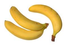 Οι μπανάνες είναι κίτρινες Στοκ φωτογραφίες με δικαίωμα ελεύθερης χρήσης