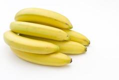 οι μπανάνες συσσωρεύουν φρέσκο ώριμο Στοκ Εικόνα