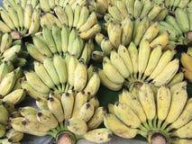 οι μπανάνες συσσωρεύουν ώριμο Στοκ Εικόνα