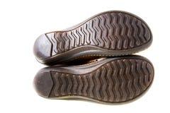οι μπότες απομόνωσαν το πέλμα Στοκ Εικόνα
