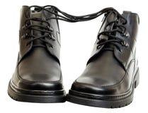 οι μπότες το δέρμα στοκ εικόνα