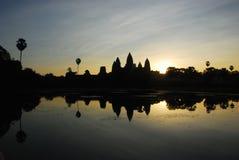 Οι ναοί Angkor Στοκ φωτογραφία με δικαίωμα ελεύθερης χρήσης