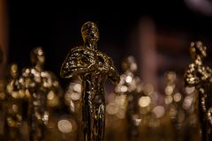 Οι νικητές του Oscar έχουν αναγγελθεί! στοκ φωτογραφία