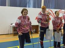 Οι νικητές Στοκ Εικόνες
