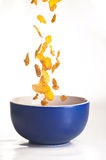 οι νιφάδες καλαμποκιού &al Στοκ φωτογραφία με δικαίωμα ελεύθερης χρήσης