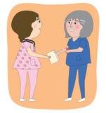 Οι νοσοκόμες ελεύθερη απεικόνιση δικαιώματος