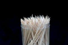 Οι ξύλινες οδοντογλυφίδες Στοκ Φωτογραφίες