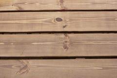Οι ξύλινες σανίδες στη βροχή Στοκ Φωτογραφίες
