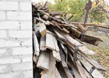 Οι ξύλινες σανίδες Στοκ φωτογραφία με δικαίωμα ελεύθερης χρήσης