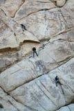 οι ορειβάτες λικνίζουν Στοκ Εικόνες