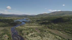 Οι ορεινές περιοχές της Νορβηγίας απόθεμα βίντεο