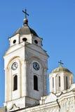 Οι Ορθόδοξες Εκκλησίες με τους σταυρούς σε Smederevo στοκ εικόνες