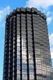 Οι ουρανοξύστες της έδρας Λα Caixa σύνθετης στη διαγώνιος Avinguda Στοκ φωτογραφίες με δικαίωμα ελεύθερης χρήσης