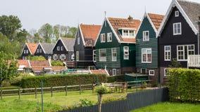 Οι ολλανδικοί ψαράδες στεγάζουν Στοκ φωτογραφία με δικαίωμα ελεύθερης χρήσης