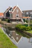Οι ολλανδικοί ψαράδες στεγάζουν Στοκ εικόνες με δικαίωμα ελεύθερης χρήσης