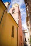 Οι οδοί Άγιος-Tropez Στοκ φωτογραφία με δικαίωμα ελεύθερης χρήσης