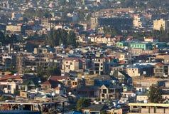 Οι οδοί της Αντίς Αμπέμπα Αιθιοπία Στοκ φωτογραφία με δικαίωμα ελεύθερης χρήσης