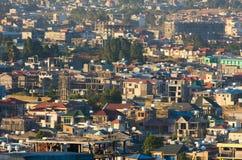 Οι οδοί της Αντίς Αμπέμπα Αιθιοπία Στοκ εικόνα με δικαίωμα ελεύθερης χρήσης