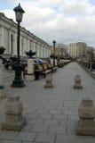 Οι οδοί της Μόσχας Στοκ φωτογραφία με δικαίωμα ελεύθερης χρήσης