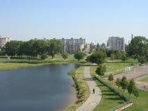 Οι οδοί της πόλης του Μινσκ (Λευκορωσία) Στοκ φωτογραφίες με δικαίωμα ελεύθερης χρήσης