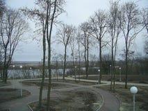 Οι οδοί της πόλης του Μινσκ (Λευκορωσία) Στοκ Εικόνες