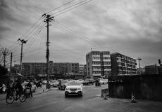 Οι οδοί του Πεκίνου Στοκ Εικόνες
