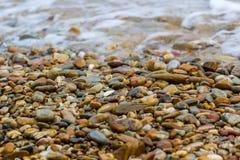 Οι πέτρες είναι στην παραλία Στοκ Εικόνες