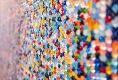 Οι πέτρες χρωματίζουν τον τοίχο Στοκ Φωτογραφία