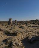 Οι πέτρες ` Pobiti ` Στοκ Φωτογραφία