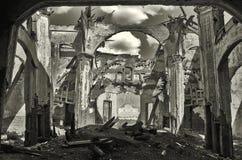 Οι παλαιές καταστροφές εκκλησιών Στοκ εικόνες με δικαίωμα ελεύθερης χρήσης