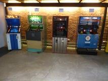Οι παλαιές μηχανές arcade Στοκ εικόνες με δικαίωμα ελεύθερης χρήσης