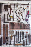 Οι παλαιοί ξυλουργοί δίνουν τα εργαλεία Στοκ Φωτογραφίες