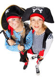 Οι πειρατές κάνουν τη διασκέδαση Στοκ Φωτογραφία