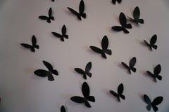 Οι πεταλούδες τοίχων κλείνουν up2 Στοκ εικόνα με δικαίωμα ελεύθερης χρήσης
