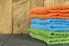 Οι πετσέτες Στοκ φωτογραφίες με δικαίωμα ελεύθερης χρήσης