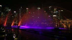 Οι πηγές της Σιγκαπούρης παρουσιάζουν απόθεμα βίντεο