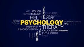Οι πνευματικές υγείες γραφείων κατάθλιψης συζήτησης συνομιλίας ακούσματος ομιλίας βοήθειας θεραπείας ψυχολογίας ζωντάνεψαν το σύν απόθεμα βίντεο