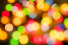 Οι πολύχρωμες σφαίρες είναι από την εστίαση, Στοκ φωτογραφία με δικαίωμα ελεύθερης χρήσης