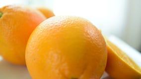 Οι πορτοκαλιές φέτες φαίνονται εύγευστες φάτε καλά φιλμ μικρού μήκους