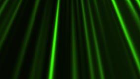 Οι πράσινες αφηρημένες κάθετες γραμμές ζωντάνεψαν το loopable σκηνικό υποβάθρου κινήσεων απεικόνιση αποθεμάτων
