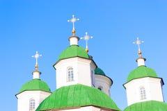 Πράσινοι θόλοι Στοκ εικόνες με δικαίωμα ελεύθερης χρήσης