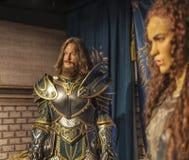 Οι προσωπικότητες Warcraft κηρώνουν τους αριθμούς Στοκ φωτογραφία με δικαίωμα ελεύθερης χρήσης
