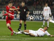 οι πρωτοπόροι το UEFA αντιστ&omi στοκ εικόνες με δικαίωμα ελεύθερης χρήσης