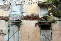 Οι πόρτες και τα παράθυρα γύρω από την παλαιά πόλη λάμα Kota, Σεμαράνγκ, IND Στοκ φωτογραφία με δικαίωμα ελεύθερης χρήσης